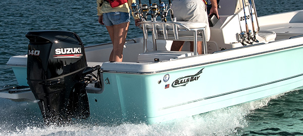 Picture of boat using DF140A/DF115A/DF100A